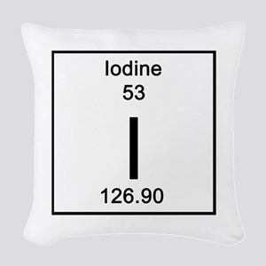 53. Iodine Woven Throw Pillow